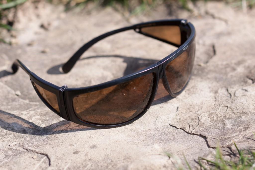 Jedne z pierwszych okularów polaryzacyjnych jakie miałem