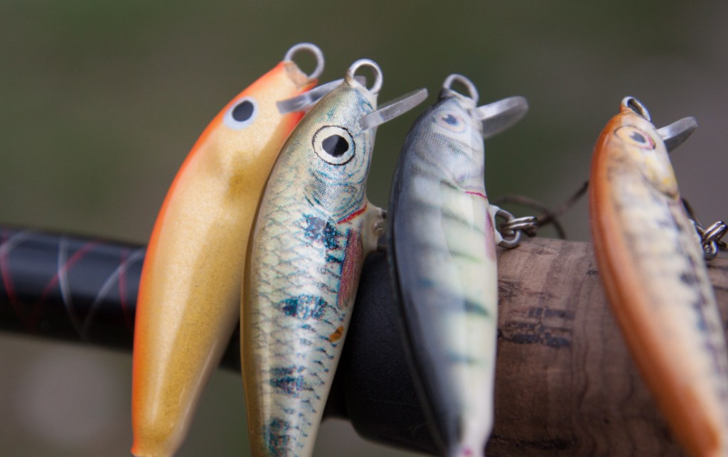 Niektóre do złudzenia przypominają prawdziwe ryby – wystarczy spojrzeć na imitację okonia