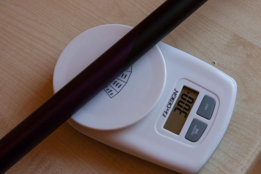 Rzeczywista waga to około 300 gram