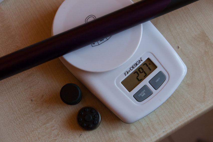 Różnice w wadze są niewielkie (co widać na kolejnych zdjęciach) ale żadna nie zbliżyła się do deklarowanej