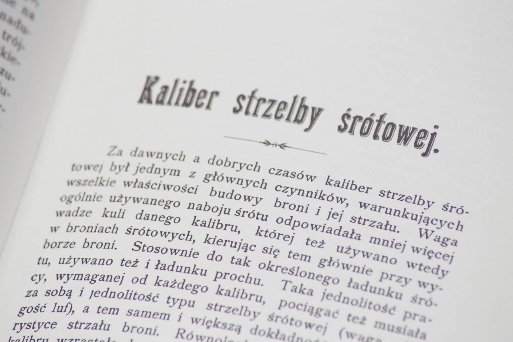 Kaliber strzelby...