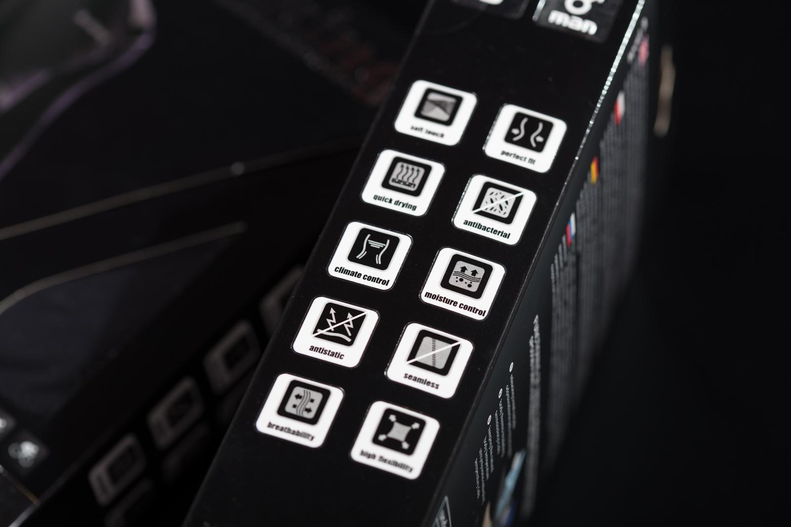 Ikony na opakowaniu produktu