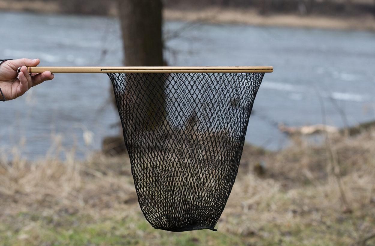 Dzięki głębokiej siatce nie będzie problemu z podebraniem większych ryb